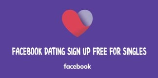 Facebook Dating Sign Up Free For Singles