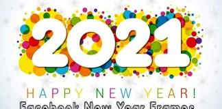 Facebook New Year Frames