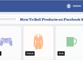 How To Sell Products on Facebook Marketplace