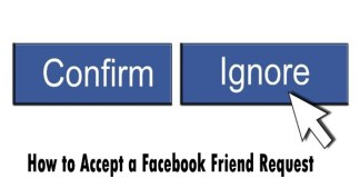 How to Accept a Facebook Friend Request