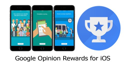 Google Opinion Rewards for iOS