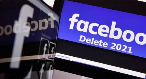 Facebook Delete 2021