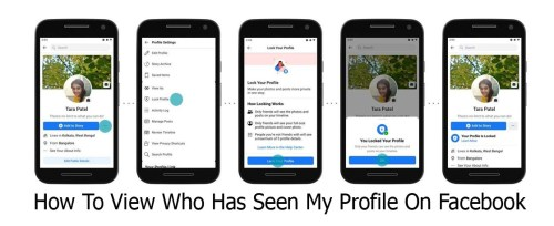 How To View Who Has Seen My Profile On Facebook