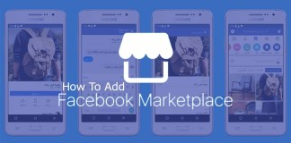 How To Add Marketplace To Facebook