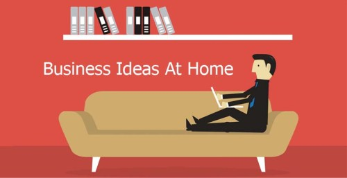 Business Ideas At Home