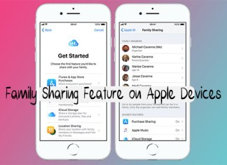 Family Sharing Feature on Apple Devices