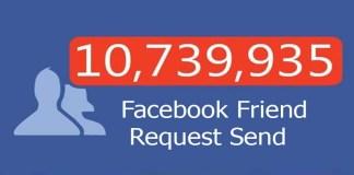 Facebook Friend Request Send