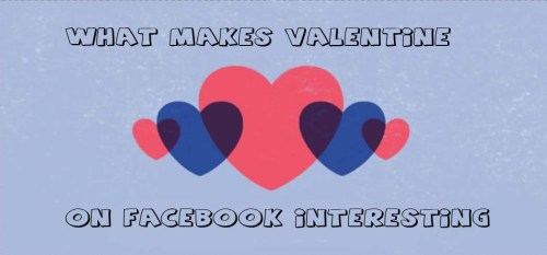 What Makes Valentine on Facebook Interesting
