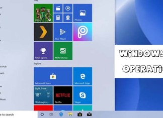Windows 10 Operation