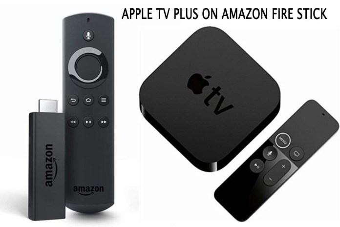 Apple TV Plus On Amazon Fire Stick
