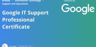 Google IT Support Certificates