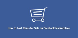 How to Post Items for Sale on Facebook Marketplace