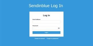 Sendinblue Log In
