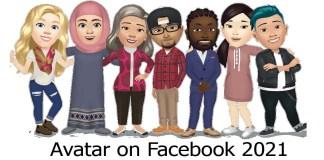 Avatar on Facebook 2021