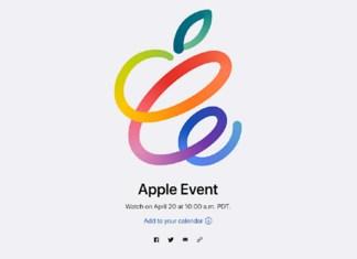 Apple April 20 Event Confirmed