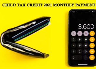 Child Tax Credit 2021 Monthly Payment