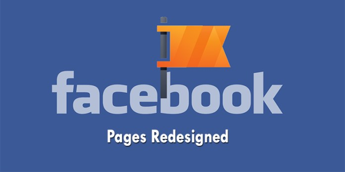 Facebook Pages Redesigned