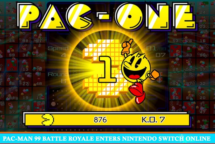 PAC-MAN 99 Battle Royale Enters Nintendo Switch Online