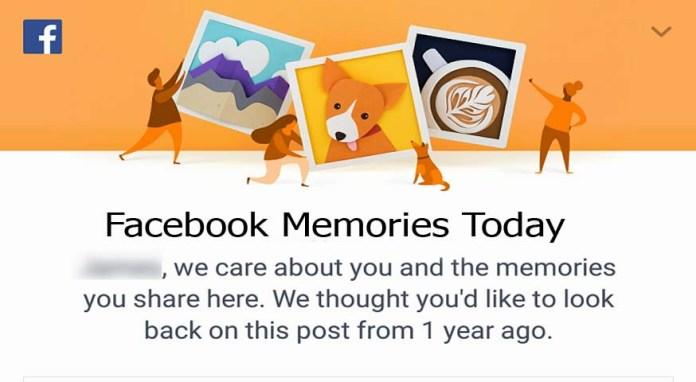 Facebook Memories Today