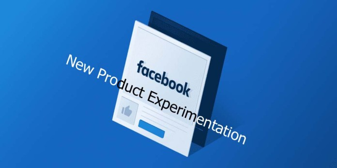 Facebook New Product Experimentation