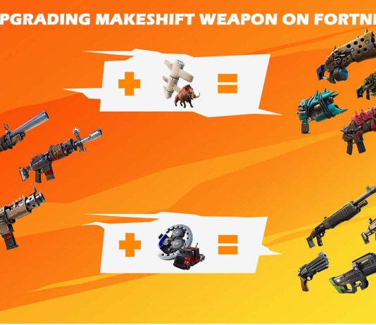 Upgrading Makeshift Weapons Just Got Easier on Fortnite