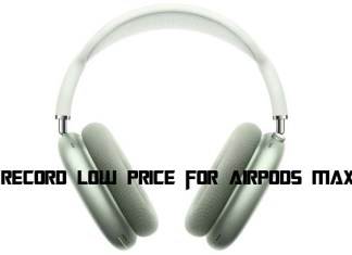 New Record Low Price for AirPods Max Deals