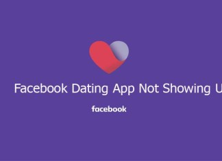 Facebook Dating App Not Showing Up
