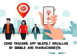 COVID Tracking App Silently Installed by Google and Massachusetts