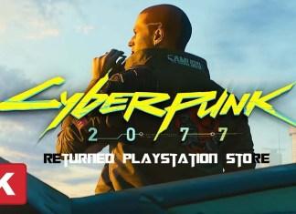 Cyberpunk 2077 Returned PlayStation Store