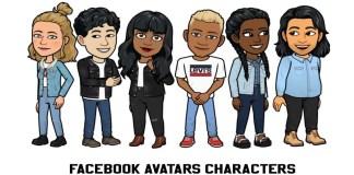 Facebook Avatars Characters
