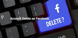 Account Delete on Facebook