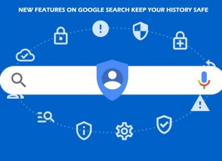 New Features on Google Search Keep your History Safe