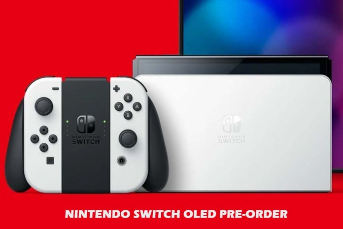 Nintendo Switch OLED Pre-Order