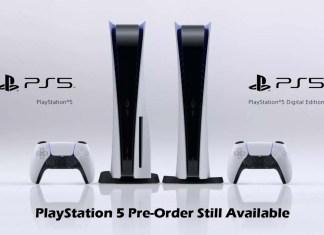 PlayStation 5 Pre-Order Still Available