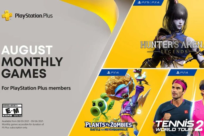 PlayStation Plus August 2021 Games