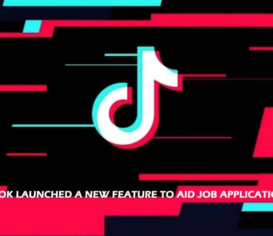 TikTok Launched a New Feature to Aid Job Applications