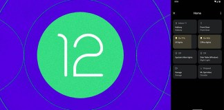Android 12 Device Control Panel can be Easier to Access