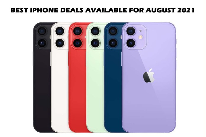 Best iPhone Deals Available for August 2021