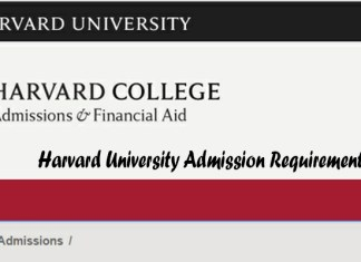 Harvard University Admission Requirements