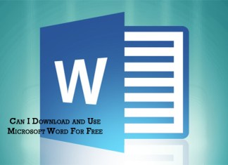 Can I Download and Use Microsoft Word For Free