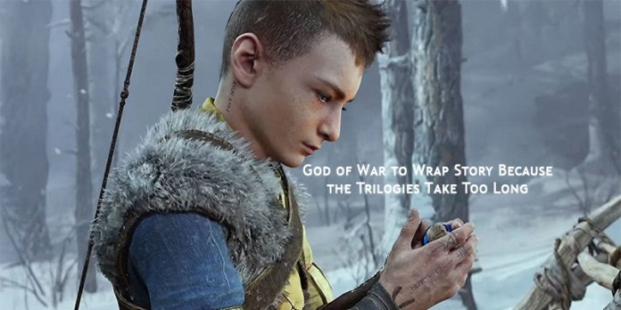 God of War to Wrap Story Because the Trilogies Take Too Long