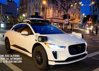 Starting 2030 California Will Require All Autonomous Vehicles to Be Zero Emission