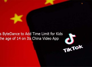 TikTok's ByteDance to Add Time Limit for Kids under the age of 14 on Its China Video App