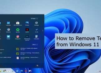 How to Remove Teams from Windows 11
