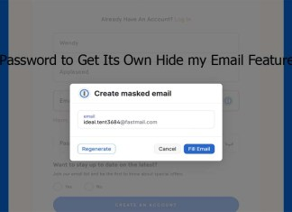 1Password to Get Its Own Hide my Email Feature