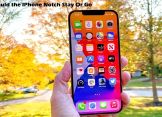 Should the IPhone Notch Stay Or Go