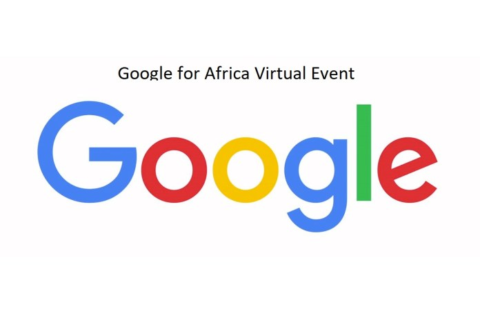 Google for Africa Virtual Event