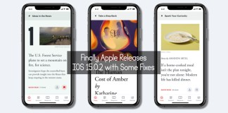 Finally Apple Releases IOS 15.0.2 with Some Fixes
