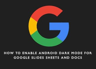 How to Enable Android Dark Mode for Google Slides Sheets and Docs