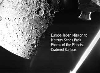 Europe-Japan Mission to Mercury Sends Back Photos of the Planets Cratered Surface